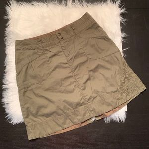 Like new REI skirt. Sz 4. Olive.
